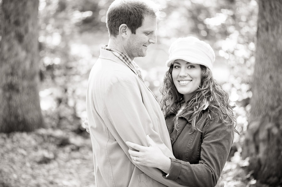 outdoor, fall, engagement photography in Harrisonburg Virginia