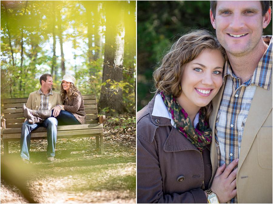 romantic and fun engagement pics in Harrisonburg, VA
