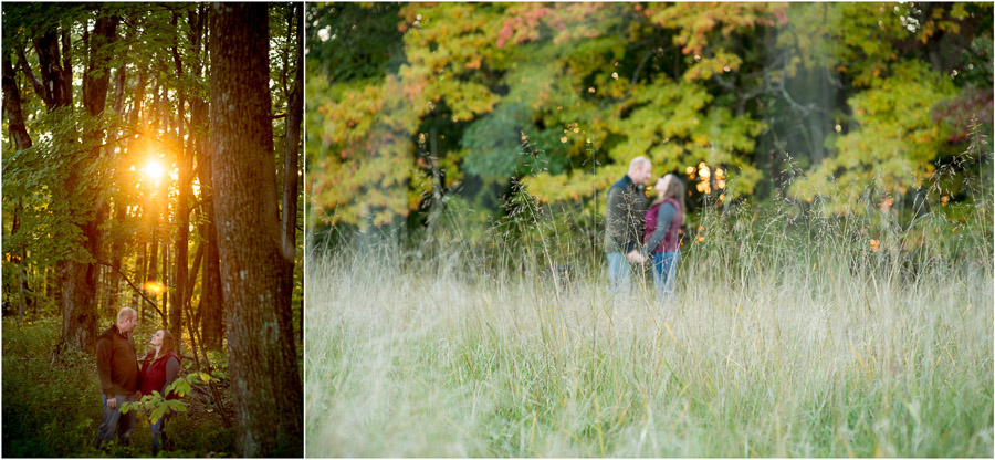 Brown County State Park Engagement Photography