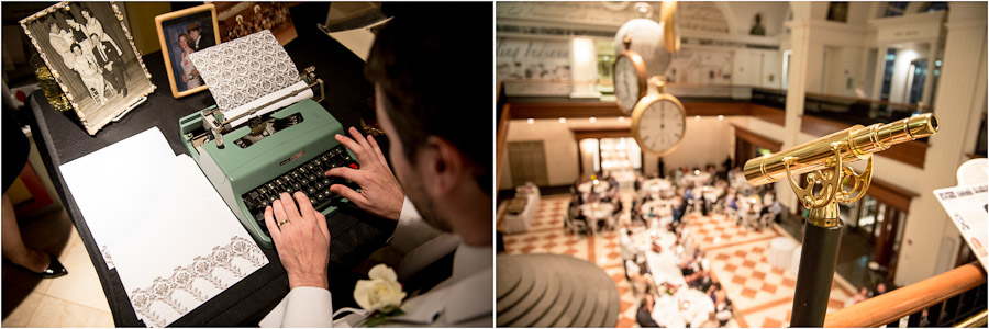 fun, quirky and nerdy wedding details in Indiana