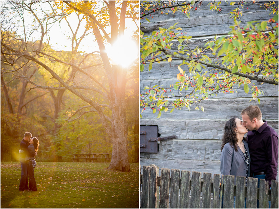 Fall Indiana Engagement Session