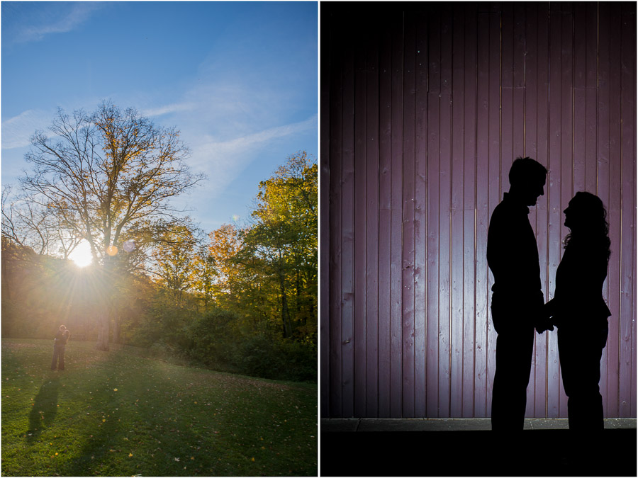Beautiful Fall Engagement Photography in Indiana