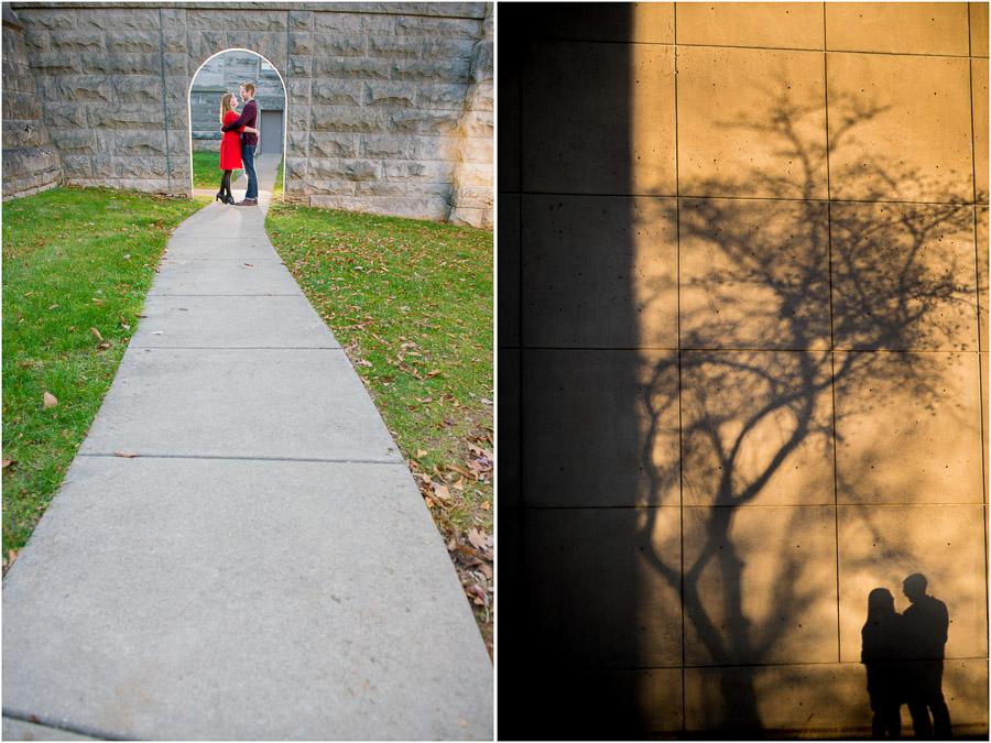 Minimalist engagement photos