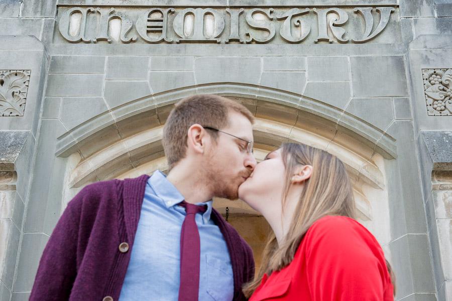 Engagement shoot chemistry