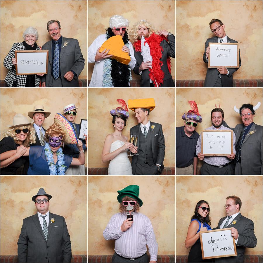 Bloomington Wedding Photobooth Fun