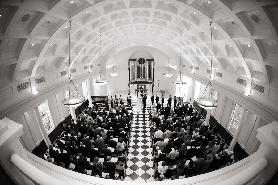 awesome fisheye wedding photos