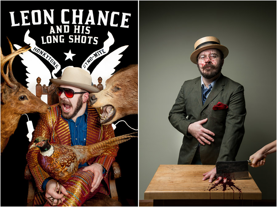 bloomington musician artist promotional photography flyers leon chance