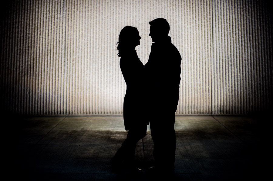 Creative and hip engagement photos indianapolis indiana