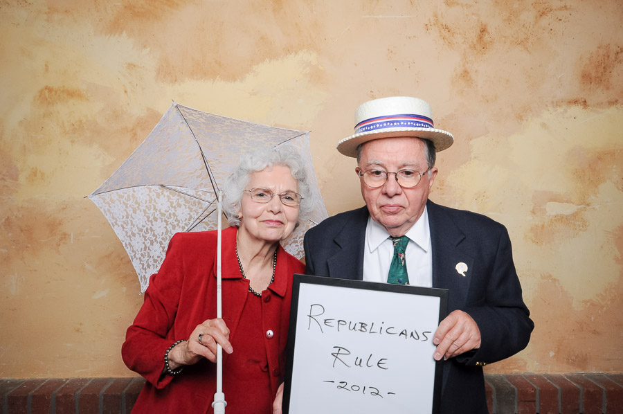 funny props in Bloomington, Indiana photobooth photos