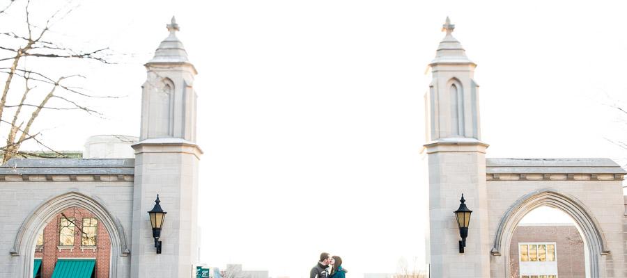 Sample Gates Indiana Engagement Wedding Photos