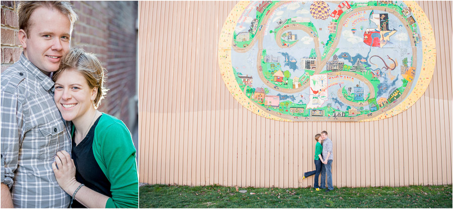 Indiana engagement photos
