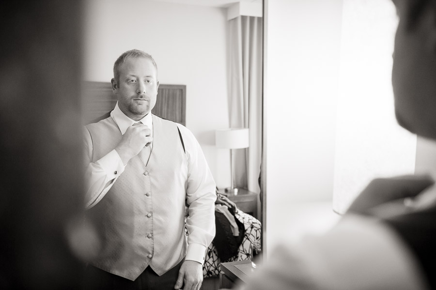 Hotel Indigo wedding prep
