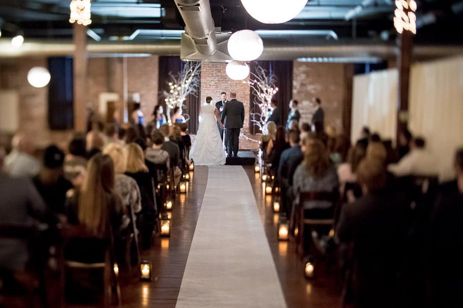 Factory 12 Event Loft Wedding Ceremony Photos
