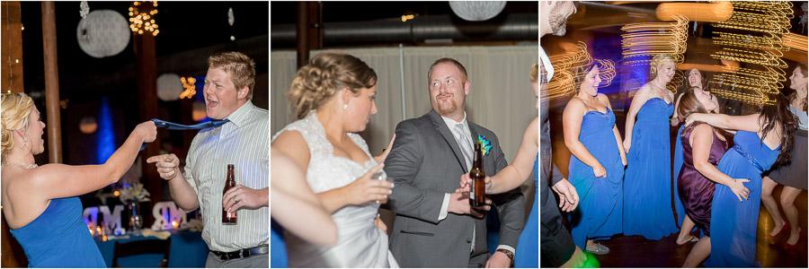 Factory 12 Event Loft Wedding Reception Photos