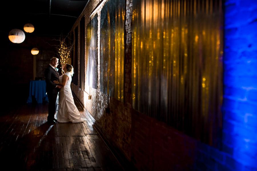 Factory 12 Event Loft Columbus Indiana Wedding Portrait