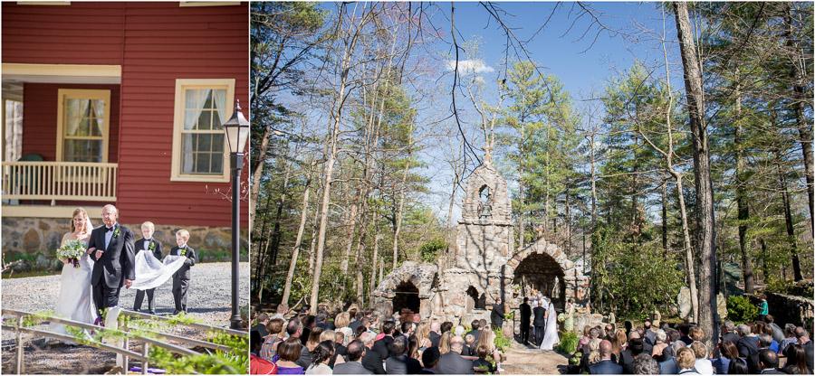 Gorgeous, vibrant, crisp wedding ceremony photography in Virginia