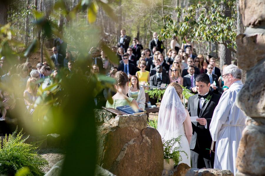 Sweet, romantic, creative wedding ceremony photography