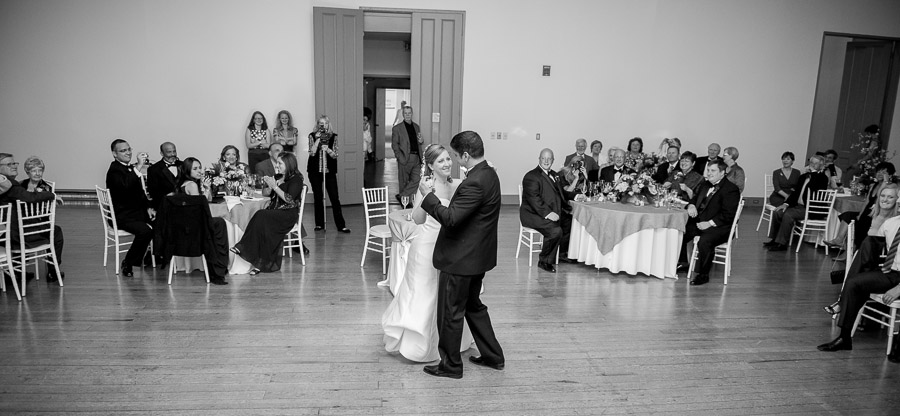 Romantic and fun first dance photo at Shrine Mont wedding