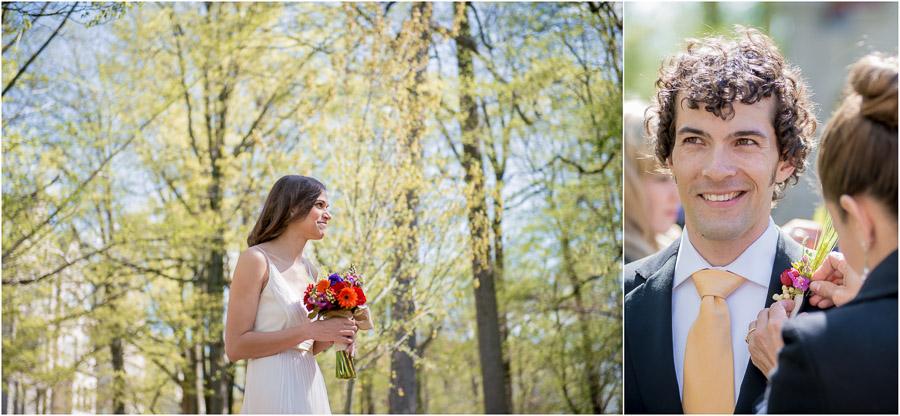 Beautiful, casual outdoor IU wedding in Bloomington, Indiana