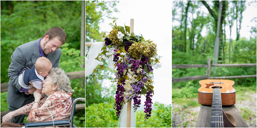 Brown County Nature Center Wedding at Overlook