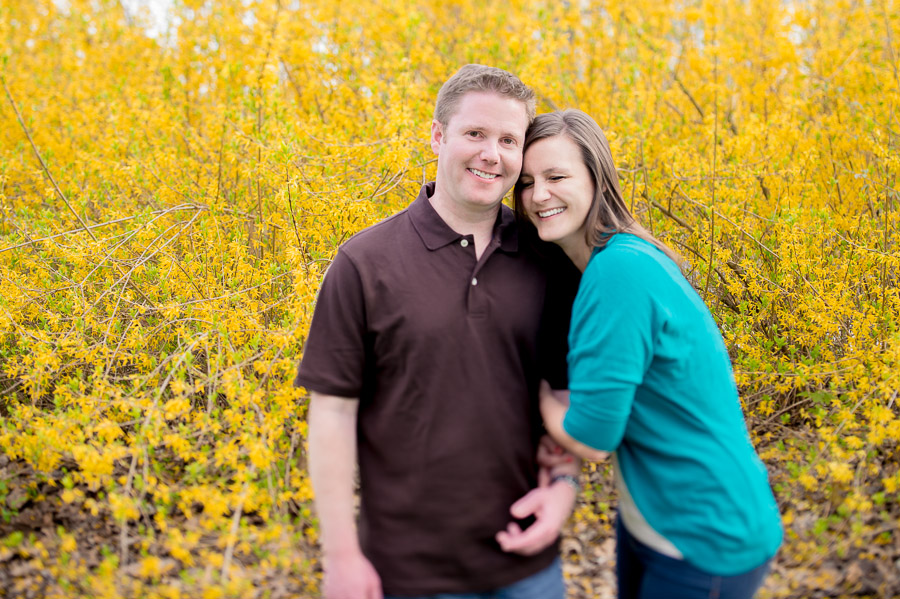 Colorful, happy, fun engagement photography near Indianapolis, Indiana