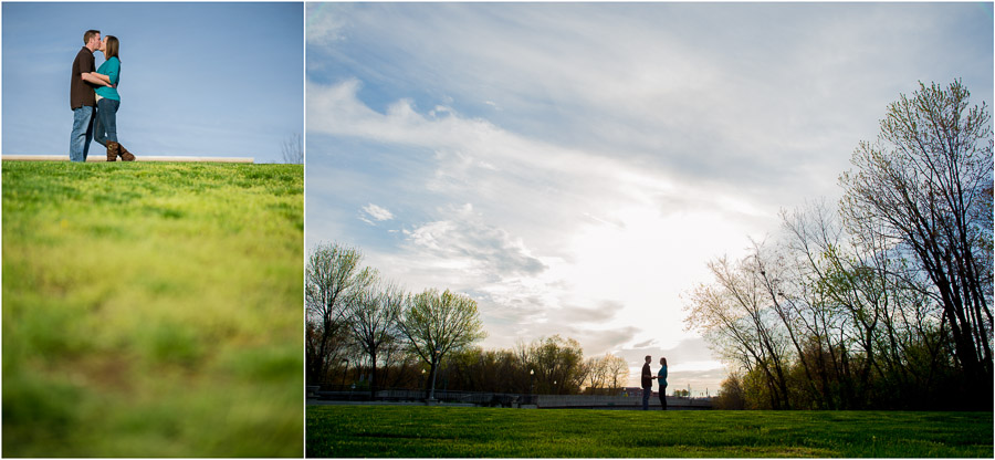artistic, minimalist, wedding engagement photography in southern Indiana