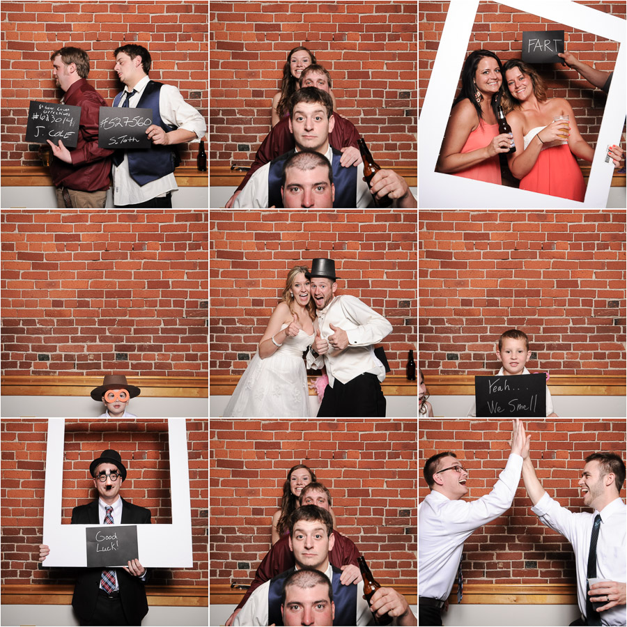 Mill Top Banquet Center Wedding Photobooth