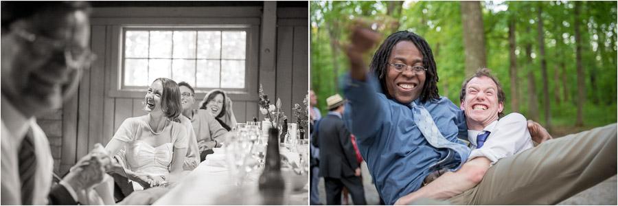 Fun moments at bloomington wedding