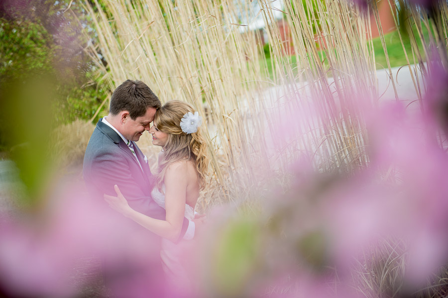 sweet colorful bride and groom photo at noblesville indiana wedding