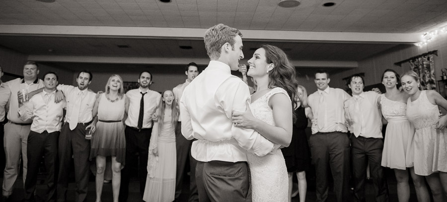 Sweet last dance photo at Indianapolis, Indiana wedding