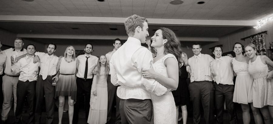 Sweet last dance photo at Indianapolis, Indiana wedding