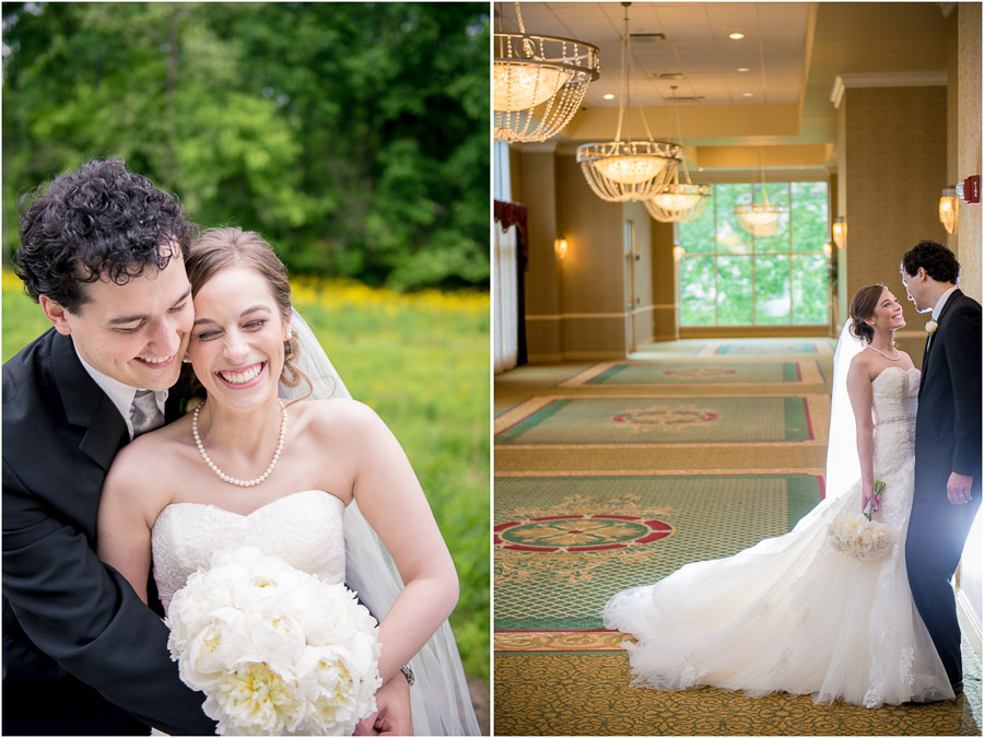 Colorful, fun, casual French Lick wedding portraits