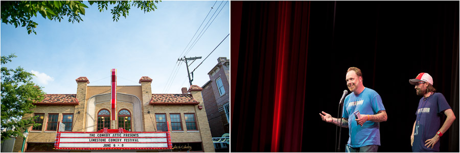 The Limestone Comedy Festival at The Buskirk-Chumley Theater