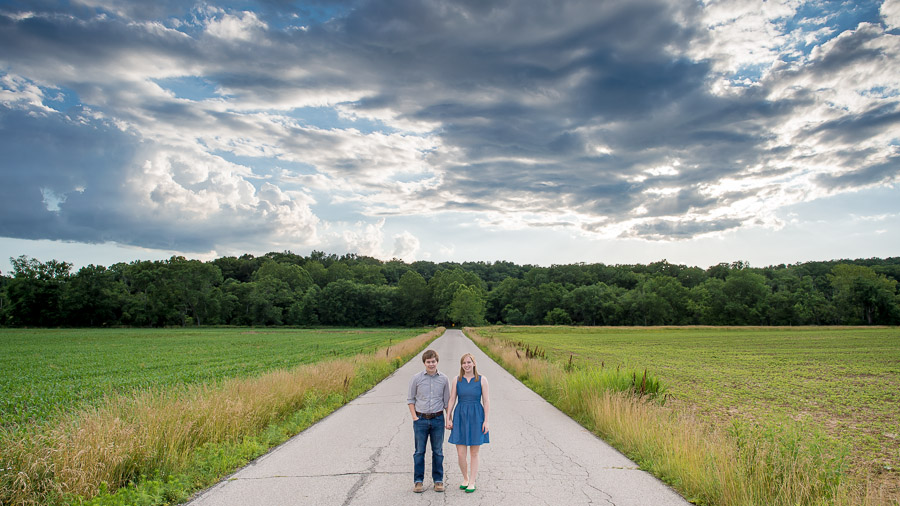 Engagement pic near Yellowwood State Forest