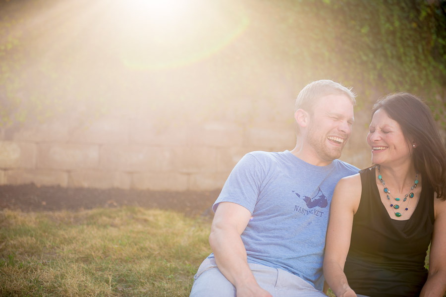 Fun, cute, and casual engagement photos, Indianapolis