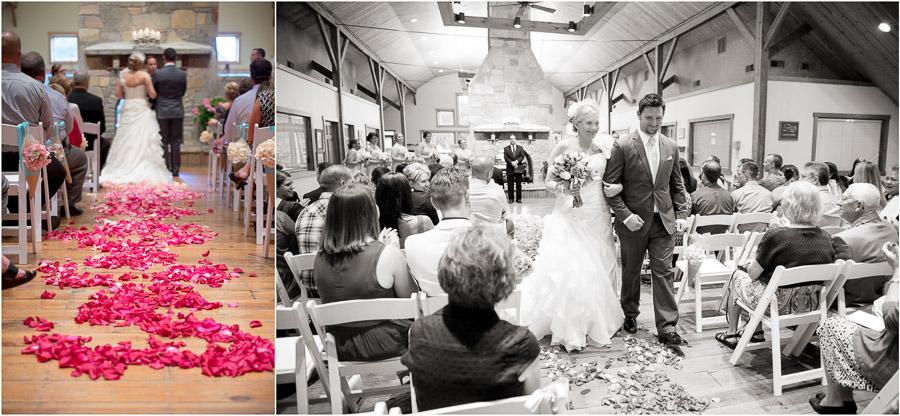 Indoor Wedding at The Fields in Bloomington Indiana