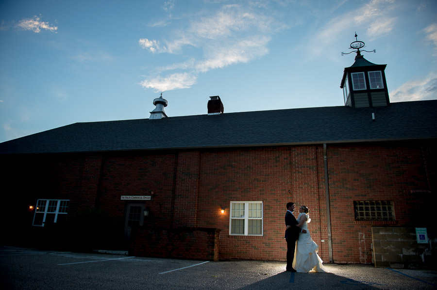 Wedding Portrait at The Fields in Bloomington, IN