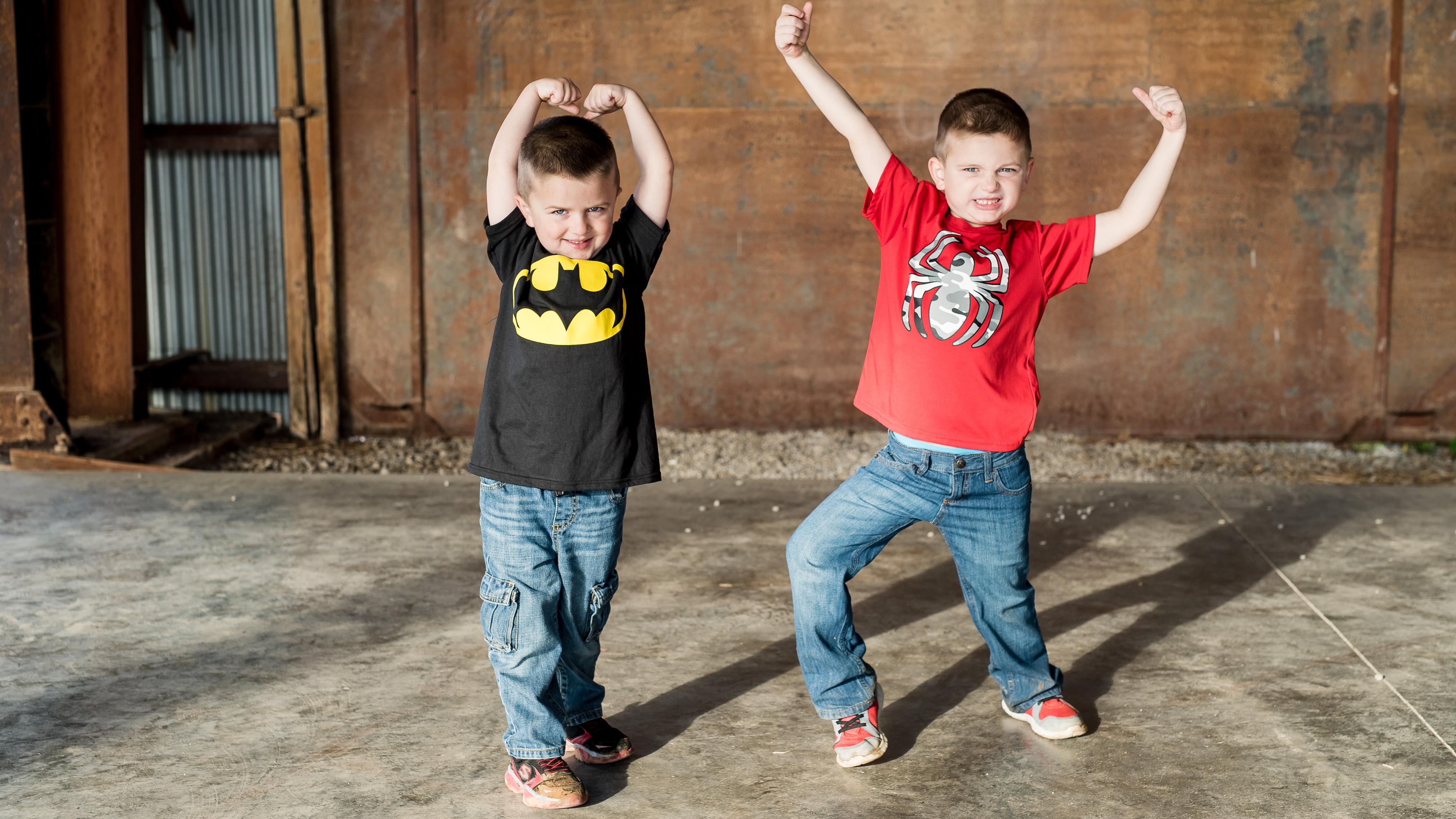 action hero family photography