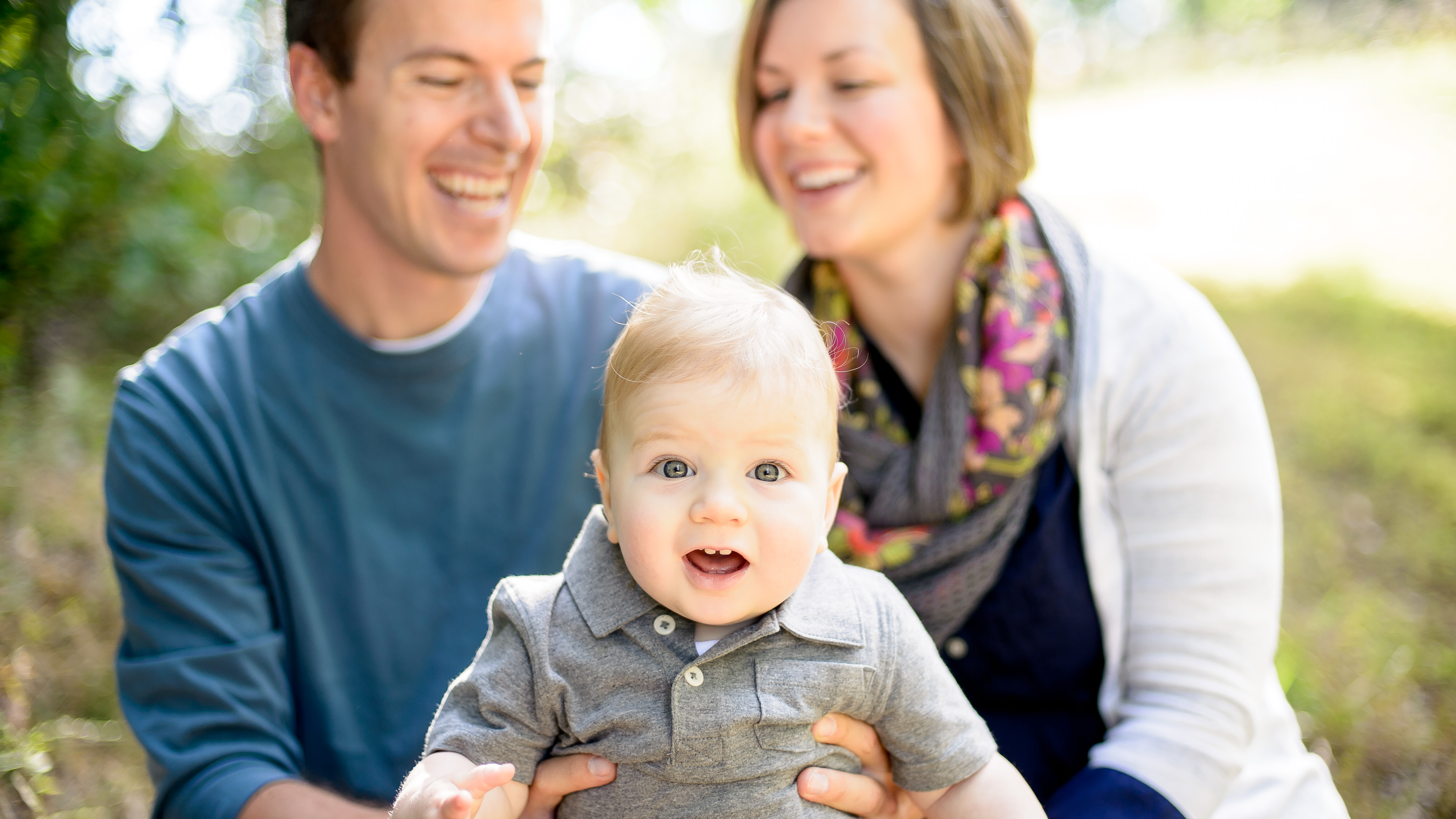 relaxed and fun family photos