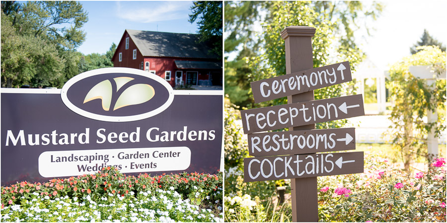 sunny, colorful, late summer wedding at Mustard Seed Gardens in Noblesville, Indiana