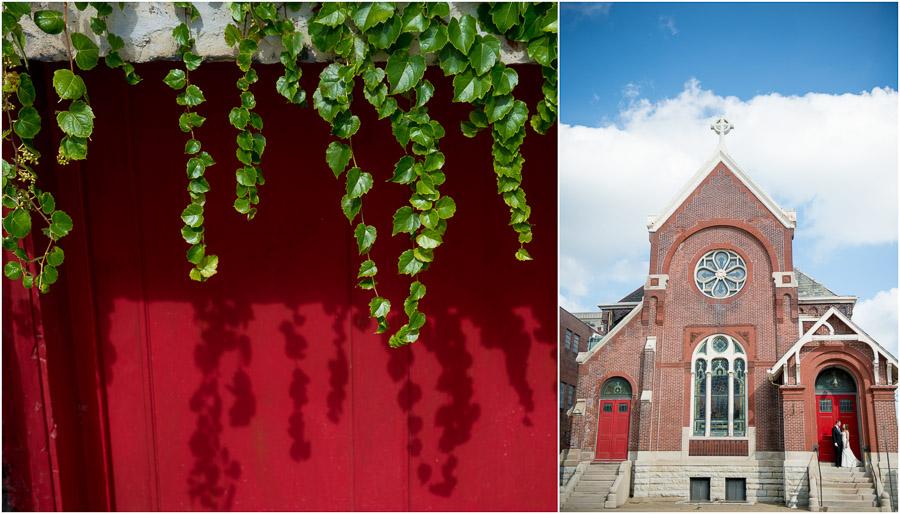 The Sanctuary on Penn Indianapolis Wedding