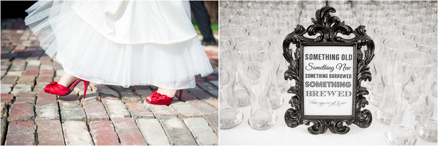 Fun wedding moments/details, Indy