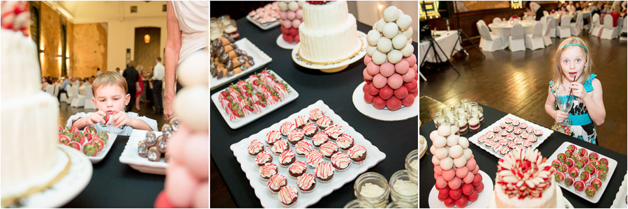 Cool wedding desserts, Two Sisters, Indy
