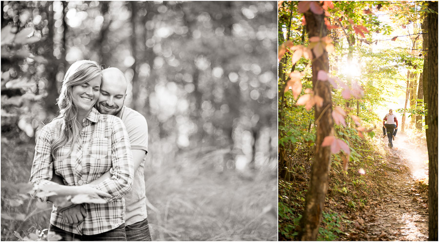 Brown County State Park Engagement Photos, TALL+small