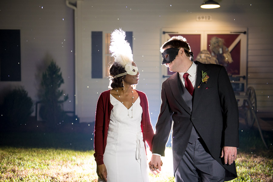 Masquerade-Themed Halloween Wedding! TALL+small