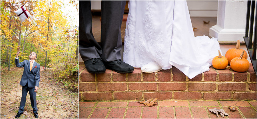 Fun VA wedding photos by TALL+small