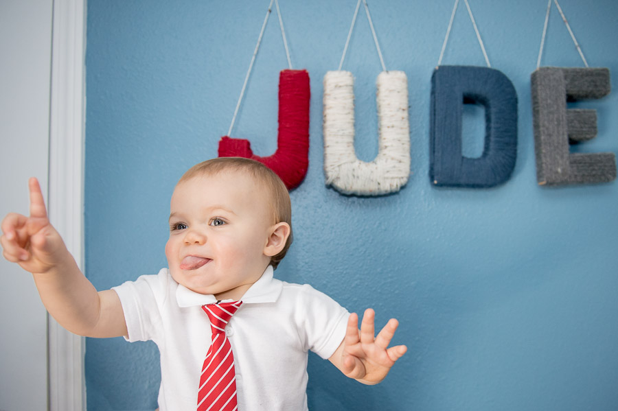 Cute, fun, quirky, one year old photos in Bloomington Indiana