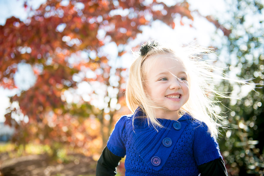 beautiful Fall children's photography in Harrisonburg, Virginia