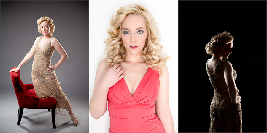 Dramatic, gorgeous, boudoir, pin-up, glam portraits in Bloomington, Indiana