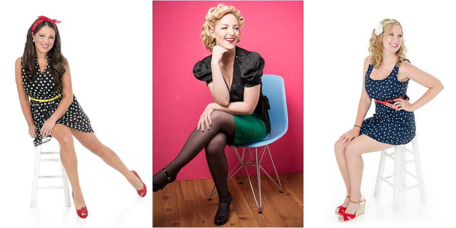 Fun, pin-up glamorous, boudoir portraits in Bloomington Indiana